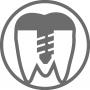 Icon für den Bereich Implantologie des Mehrversorgungszentrum Dr. Helge Loock und Kollegen in Hamm.